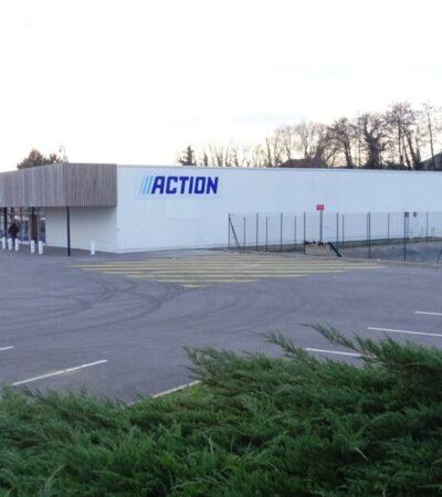 Prochainement ouverture d'un magasin ACTION
